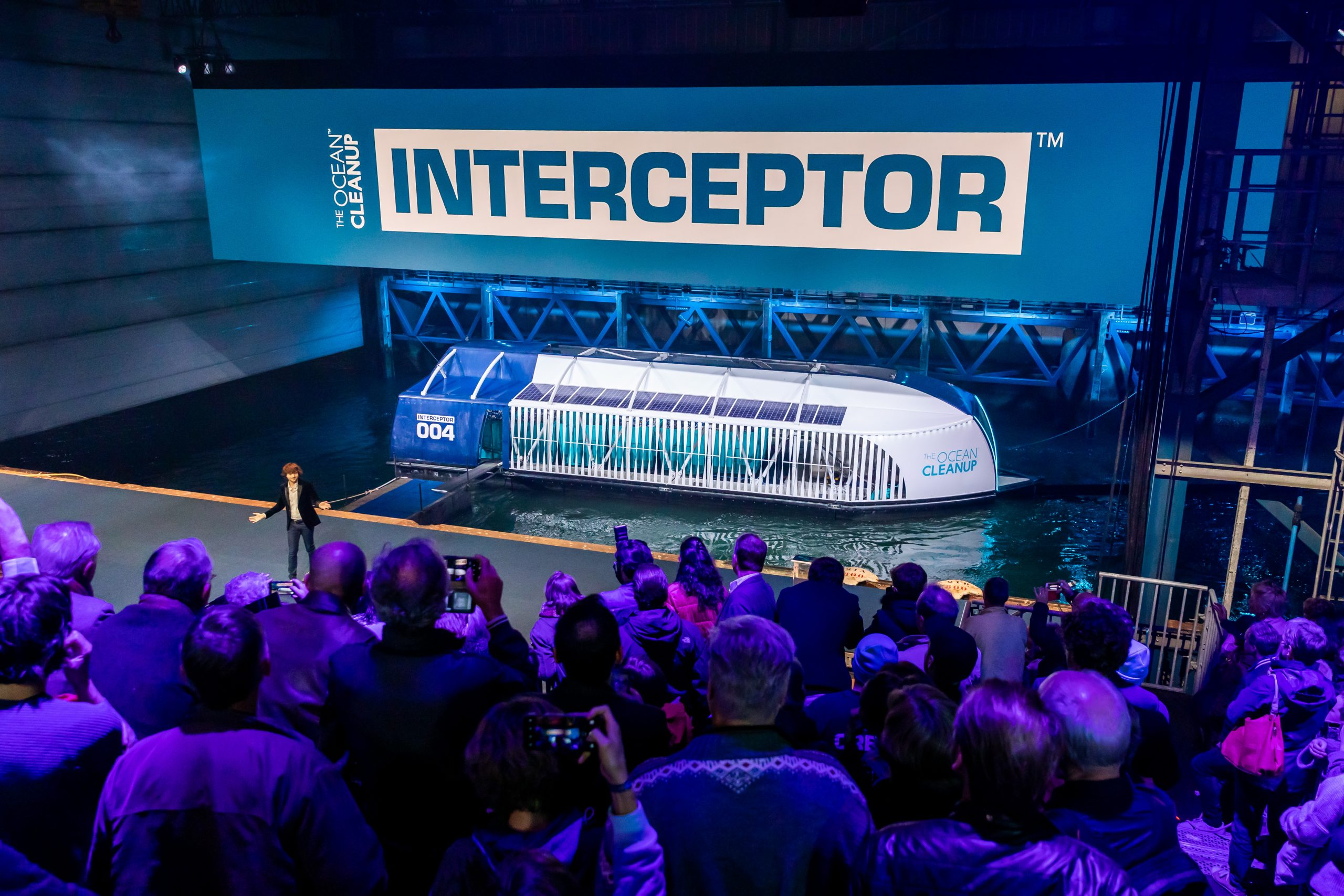 Rotterdam, October 26, 2019 – The Ocean Cleanup unveils the Interceptor, the first scalable river cleanup technology.